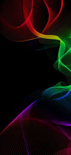 """""""Neon Abstract Designed By Phone Screen Wallpaper, Trippy Wallpaper, Graphic Wallpaper, Mobile Wallpaper, Colorful Wallpaper, Pride Colors, Black Panther Marvel, Abstract Styles, Abstract Art"""