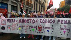 CGT Atento Madrid: Manifestación por el derecho al aborto