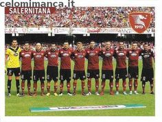 Calciatori 2015-2016: Fronte Figurina n. 760 Squadra Salernitana