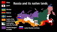 Putin's twisted imperial logic: The (many) historical claims on Russian lands #infographic
