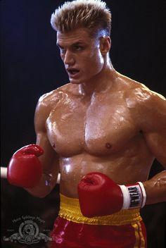 Dolph Lundgren as Ivan Drago in Rocky IV (Dir. Sylvester Stallone) 1985