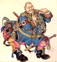 Hermann Goering - Arthur Szyk