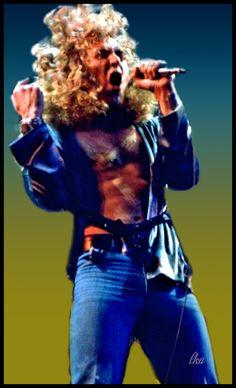 Robert Plant Photoartist LisaKay Allen/ PassionFeast