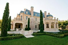 $50 Million 27,000 Square Foot French Mega Mansion In Beverly Hills, CA « Homes of the Rich – The Web's #1 Luxury Real Estate Blog