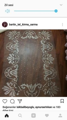 This Pin was discovered by Şer Kurti Patterns, Rugs, Home Decor, Farmhouse Rugs, Cross Stitch, Africa, Decoration Home, Room Decor, Floor Rugs