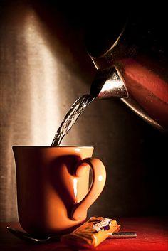 I heart tea cup handle #tea #photography
