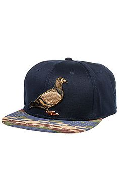 ead5123b9f6 The Daly Pigeon Snapback Hat in Navy by Staple Dope Hats