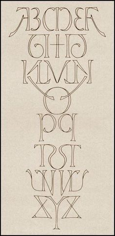 Funny pictures about Perfectly Mirrored Alphabet. Oh, and cool pics about Perfectly Mirrored Alphabet. Also, Perfectly Mirrored Alphabet photos. Calligraphy Letters, Typography Letters, Hand Lettering, Design Typo, Typography Design, Design Design, Design Graphique, Art Graphique, Art Nouveau