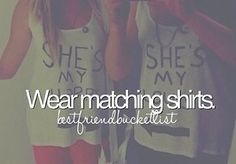 katie we have to get shirts like those and if they have three it would be chloe, u and me! LOL