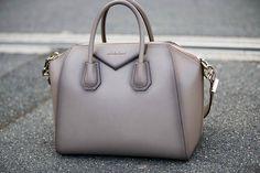 Grey Givenchy bag