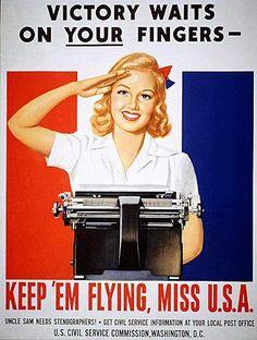 Uncle Sam needs stenographers!