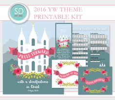 LDS Young Women 2016 Theme Kit
