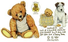 Signed and mounted fine art print on premium quality textured heavy weight art paper X X - X X - greetings cards with envelope X X - Bear Paintings, Love Bears All Things, Bear Drawing, Doodle Doo, Bear Illustration, Bear Art, Tole Painting, Teddy Bears, Charity