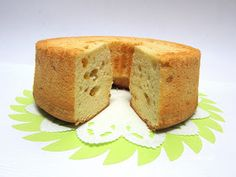 Mango Yoghurt Chiffon