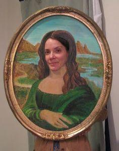 Mona Lisa costume