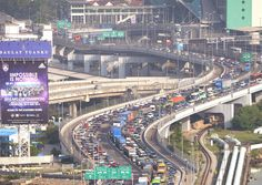 From her hotel room in Johor Baru (JB), Madam Jaclyn Lim could see Singapore.Her home country seemed so near.But with massive jams at the Johor-Singapore Causeway following tighter security at the Republic's land checkpoints, home seemed far away.Motorists said the jams were lasting up to five hours.Madam Lim, who is in her 50s, has been driving from Singapore to JB for work for nearly 15 years.