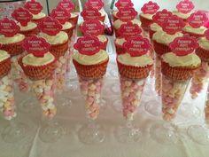 Cupcakes voor de babyshower