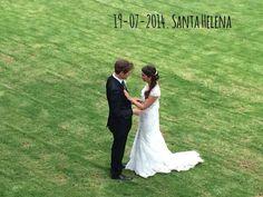 Recent casats i a punt per la sessió / by Santa Helena Bodas