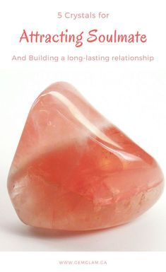 5 crystals that help you to find your soulmate crystals for love // crystals for attracting love // attract love // attract soulmates // crystal healing // healing crystal // feng shui // how to be more attractive//attractiveness tips//crystals for relationships