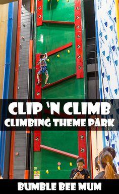 Clip 'n Climb Singapore - Bumble Bee Mum