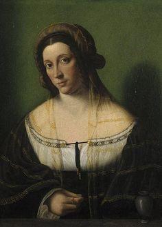 Bartolomeo Veneto - Portrait of a Lady