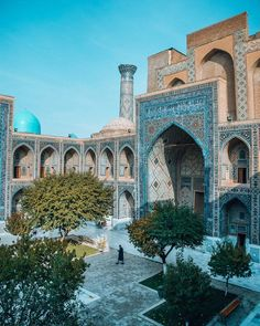 Great Buildings And Structures, Modern Buildings, Islamic Architecture, Art And Architecture, Timurid Empire, Travel Inspiration, Travel Ideas, Travel Tips, Places To Travel
