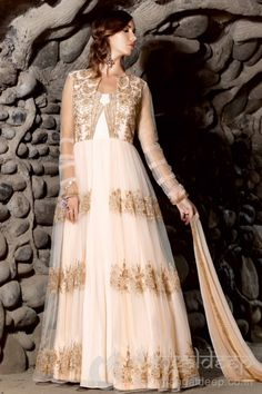 http://www.mangaldeep.co.in/salwar-kameez/stunning-look-in-colour-cream-which-is-having-a-spunky-look-in-semi-stitched-anarkali-suit-7705 For further inquiry call us or Whats App on :: +919377222211