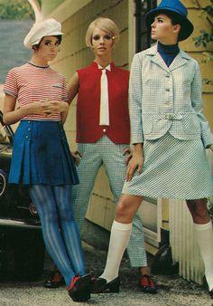 1968 - cute striped top