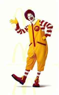 Ronald Mcdonald, personnage qui a su marqué dans l'imaginaire collectif, autant des grands que des enfants!