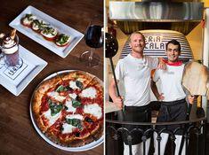 Little Italy's Isola Pizza Bar and North Park's Caffe Calabria. Vintage Italian, Italian Style, Good Pizza, Pizza Pizza, Places To Eat, Eating Places, Pizza House, San Diego Vacation, San Diego Restaurants