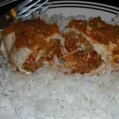 Chili Cumin Stuffed Chicken Breasts