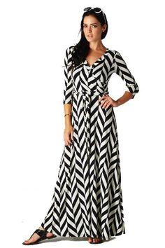 chevron maxi dress amazon