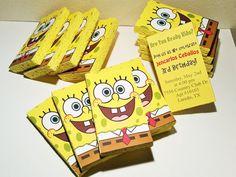 SpongeBob SquarePants Invitation sponge by PhotoNPaperCreations