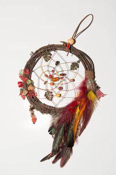Autumn dreamcatcher Boho cosy