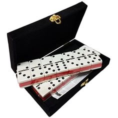 Domino Double Six - Red & White Two Tone Tile Jumbo Tourn...