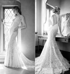 75 Lace Wedding Dresses To Die For | HappyWedd.com