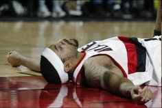 Rasheed Wallace, Portland Trail Blazers... really, really miss him... he kept the game exciting....