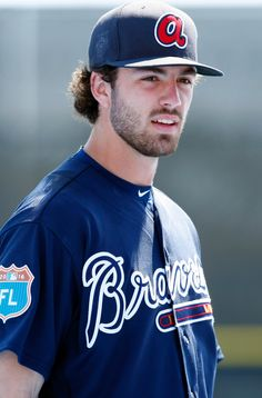 Mar 7, 2016; Dunedin, FL, USA; Atlanta Braves shortstop Dansby Swanson (80) prior to the game against the Toronto Blue Jays at Florida Auto Exchange Park. Mandatory Credit: Kim Klement-USA TODAY Sports Created