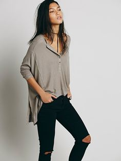 We The Free Benedict Canyon Henley at Free People Clothing Boutique
