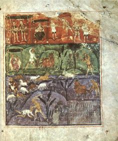 TheAshburnham Pentateuch(Paris,Bibliothèque Nationale de France, MS nouv. acq. lat. 2334, also known as theTours Pentateuch) is a late 6th- or early 7th-century Latinilluminated manuscriptof thePentateuch(the first five books of theOld Testament). Although it originally contained all five books of the Pentateuch, it is now missing the whole ofDeuteronomyas well as sections of the other five books.