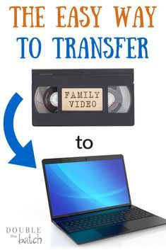 to Transfer Your VHS Home Movies to Your Computer The easy way to transfer VHS home movies to your computer.The easy way to transfer VHS home movies to your computer. Computer Help, Computer Technology, Computer Tips, Computer Projects, Computer Desks, Business Technology, Medical Technology, Computer Programming, Energy Technology