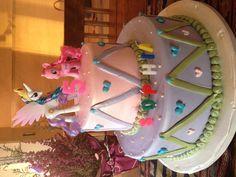 Sophia's My Little Pony birthday cake.