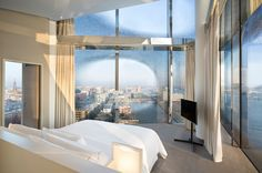 Westin Hamburg Opens in Herzog & de Meuron's Brand-New Elbphilharmonie Building