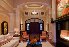 Bentgrass Bend, Naples, FL, Private Residence - transitional - Entry - Other Metro - Harwick Homes