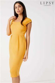 L2018 Plisowana sukienka midi Lipsy