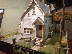 """A model of the title character's house from """"ParaNorman"""" on display at an Arclight theater. There's a nice article about Laika in the New York Times today. While not tremendously in-depth, it's a neat bit of context for the release of the Portland studio's""""ParaNorman"""" this Friday.  Moving Ahead in Stop Motion/With 'ParaNorman,' Laika Aims to Push Animation Boundaries    The Blackwing Diaries"""