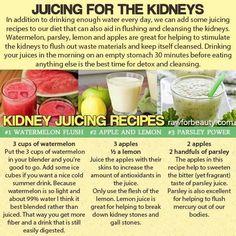 Kidney juicing recipes watermelon apple lemon parsley