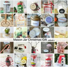 Sharing a round up of Mason Jar Christmas Gift Ideas that will get you inspired to get your Christmas gifts done so you can relax and enjoy the holidays with your loved ones.