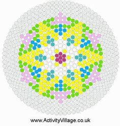 Rangoli Fuse Bead Patterns
