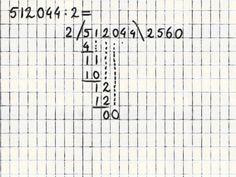 Delen 6 - Staartdeling met nullen in het antwoord